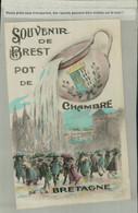 HUMOUR- FANTAISIE SOUVENIR De BREST Le Pot De Chambre De La BRETAGNE ( Mai 2021 143) - Brest