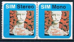 Stereo Sound - E Mono -Toscanini Duets - Concert Favorites - Vinheta - Vignette - Cinderella - Cinderellas