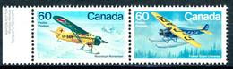 Canada 1982 MiNr. 851 - 852  Kanada Transport Airplanes (IV) 2v MNH** 2,40 € - Vliegtuigen