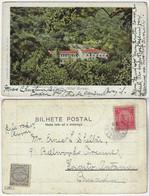 Brazil Rio De Janeiro 1900s Postcard Hotel Moreau In Tijuca Editor Papelaria Rodrigues Sent To Ontario Canada Stamp - Rio De Janeiro
