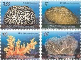 Taiwan 2016 Corals Stamps (III) Coral Ocean Sea Marine Life Fauna Fish - Nuevos