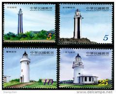 Taiwan 2014 Lighthouse Stamps Island Solar - Nuevos