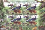 Taiwan 2014 Conservation Birds Stamps Sheet-Swinhoe Pheasant Mother Bird Forest Fern Squirrel Fungi Mushroom Fruit - Hojas Bloque