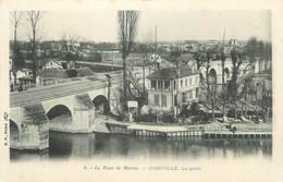 """CPA FRANCE 94 """"Le Tour De Marne, Joinville, Le Pont"""" - Joinville Le Pont"""