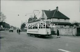 AK Castrop-Rauxel, Straßenbahn Linie 10 Heinrichenburg Echtfoto, Abzug Ca. 1970er Jahre, Format Ca. 13,5 X 9,5 C (6,73) - Castrop-Rauxel
