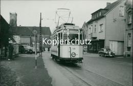 AK Castrop-Rauxel, Straßenbahn Linie 10 Heinrichenburg Echtfoto, Abzug Ca. 1970er Jahre, Format Ca. 13,5 X 9,5 C (6,74) - Castrop-Rauxel