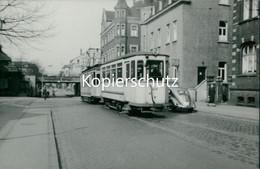 AK Castrop-Rauxel, Straßenbahn Linie 2 Echtfoto, Abzug Ca. 1970er Jahre, Format Ca. 13,5 X 9,5 Cm (6,76) - Castrop-Rauxel