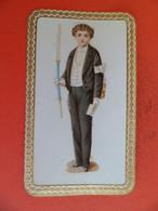 Image Pieuse Religion Catholique +ou- 1910 - Communiant - Chromo Gaufrée  Relief - Religion & Esotericism