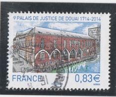 FRANCE 2014 PALAIS DE JUSTICE DE DOUAI OBLITERE A DATE YT 4902 - - Used Stamps