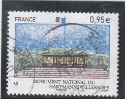 FRANCE 2015 MONUMENT NATIONAL DU HARTMANNSWILLERKOPF OBLITERE A DATE  - YT 4966 - Usati