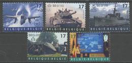 Belgique - Belgium - Belgien 1999 Y&T N°2809 à 2913 - Michel N°2861 à 2865 (o) - 50 Ans De L'OTAN - Unused Stamps