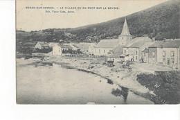Bohan Sur Semois Le Village Vu Du Pont Sur La Semois - Vresse-sur-Semois