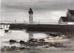 GEORGES LAPORTE - Port Breton - Port Haliguen - Paintings