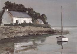 GEORGES LAPORTE - Ilot Breton - Paintings