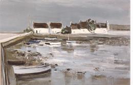 GEORGES LAPORTE - Petit Port Breton - Saint-Cado - Paintings