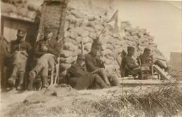 OUD STUYVEKENSKERKE 06/1915  PHOTO ORIGINALE 8 X 5 CM - Guerra, Militares