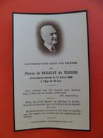 Image Pieuse 1935 Décès De Pierre De BARBUAT Du PLESSIS De MONTROUGE Anobli En 1660 - Religion & Esotericism