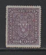 Autriche - YT N° 161 Neuf* (cote 40 Euros) - Nuevos