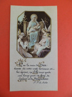 Image Pieuse 1900 - Vierge Et Enfant Jesus - - Religion & Esotericism