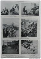 à Zeebrugge Et Ostende, Nids De Pirates  - Page Original 1919 - Historical Documents