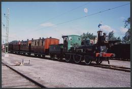 Photo Format CPSM - Suède - Musée - Rame Avec Voitures Teck - Voir Scan - Trains