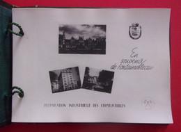 """Album De Photographies Sur L'activité De La Maison """"Préparation Industrielle Des Combustibles"""" Sise à Fontainebleau - Métiers"""