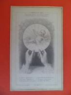 Image Pieuse Religion Catholique +ou-1850 - Letaille N° 278 - L' Hostie De Noel - Bethleem Et L' Eucharistie - Jesus - Religion & Esotericism