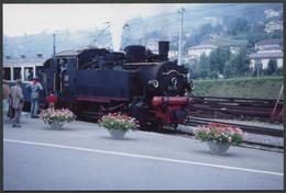 Photo Format CPSM - Suisse - Locomotive Vapeur N° 99193 - Voir Scan - Trains