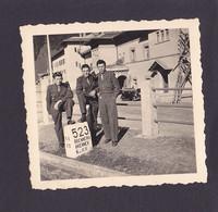 S1257 - Autriche / Italie - Photo De Soldats  - Col Du BRENNER - Photo Originale 6 X 6 Cm Environs - Lieux