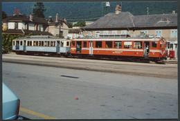 Photo Format CPSM - Suisse 1976 - Rame Autorail Chemin De Fer ASD - Voir Scan - Trains