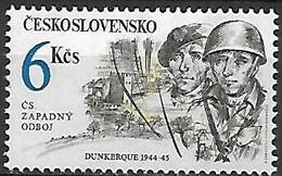 TCHECOSLOVAQUIE   -  1992.   Y&T N° 2918 ** .   Dunkerque, Ville Et Soldats. - Ongebruikt
