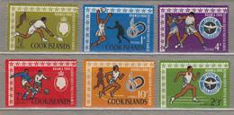 COOK ISLANDS 1967 Sport MNH Mi 129-132 #27785 - Cook