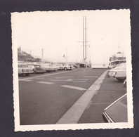 S1260 - Port MONTE CARLO  Photo Amateur - Non Datée Mais 1790 Environs - Photo Originale 9 X 9 Cm Environs - Lieux