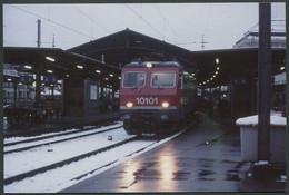 Photo Format CPSM - Suisse - Motrice électrique N° 10101 De La SBB CFF - Voir Scan - Trains