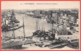 DUNKERQUE (59) Cpa ± 1918 - Panorama Du Bassin Du Commerce Bateaux De Pêche (¬‿¬) ♥ - Dunkerque
