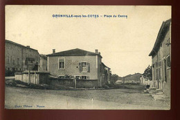 55 - GIRONVILLE-SOUS-LES-COTES - PLACE DU CENTRE - PHOTO ODINOT - NANCY - Other Municipalities
