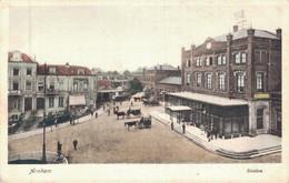 79744- Arnhem Mit Bahnhof Station Straßenzug Um 1920 - Arnhem