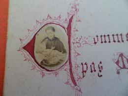 Image Pieuse Photo Albumine - Enfant Jesus - Du 4 Octobre 1889 - Religion & Esotericism