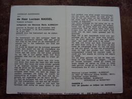 Doodsprentje/Bidprentje  Luciaan NASSEL (Echtg Maria ALBRECHT)Brugge 1916-1977  Rustend Schipper - Religion & Esotericism