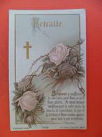 Image Pieuse Chromo  Bouasse 3738 - 1894 - Retraite - - Religion & Esotericism