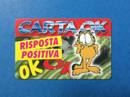 SCHEDA CARTA TESSERA CARD RISPOSTA POSITIVA CARTA OK - Altri