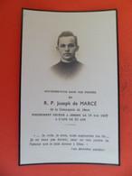Image Pieuse Décès  1937 De RP Joseph De MARCE De La Compagnie De Jesus à JERSEY -  île Anglo-Normandes. - Religion & Esotericism