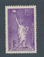 FRANCE - N° 309 NEUF** SANS CHARNIERE - 1936 - COTE MINI : 25€ - Ungebraucht