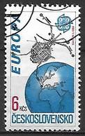 TCHECOSLOVAQUIE   -  1991.   Y&T N° 2884 Oblitéré.  EUROPA - Usados