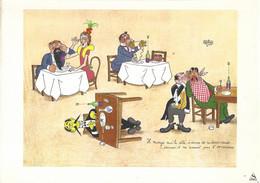 Optalidon (publicité Illustrée Par Dubout) Il Mange Sur Le ôté, ... - Advertising