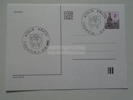 D179405 Entier Postal  Stationery   1998 Slovakia TRENCIN -Sidlo Kraja - Postcards