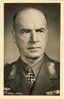 2° World War - III Reich - New Original Postcard - Afrika Korps General LUDWIG CRUWELL - Guerra 1939-45
