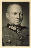 2° World War - III Reich - New Original Postcard - WEHRMACHT Generaloberst GUNTHER VON KLUGE - Guerra 1939-45