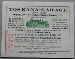 Carte Publicitaire Toskana-Garage Julius Grün à Wien (Vienne, Autriche) - Advertising