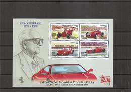 Automobile -Ferrari Enzo ( BF 19 XXX -MNH- D'Italie) - Auto's